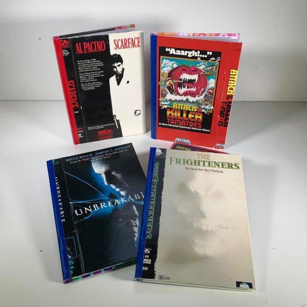 Custom VHS Notebooks