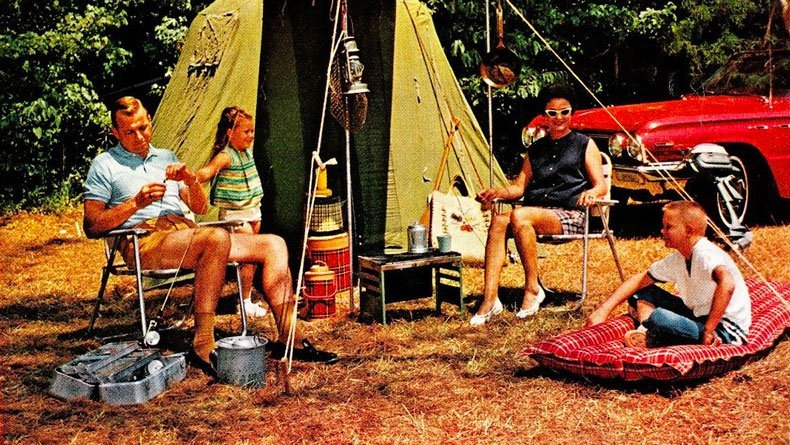 Old School Camping